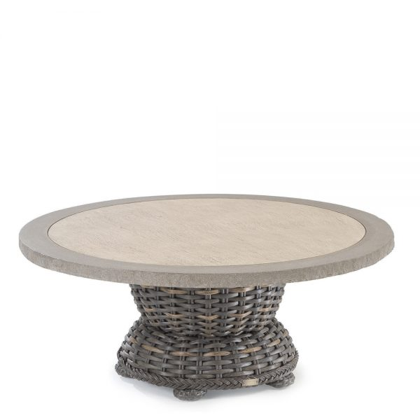 south hampton 42 round cocktail table w composite top