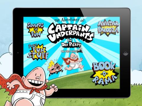 captain underpants app