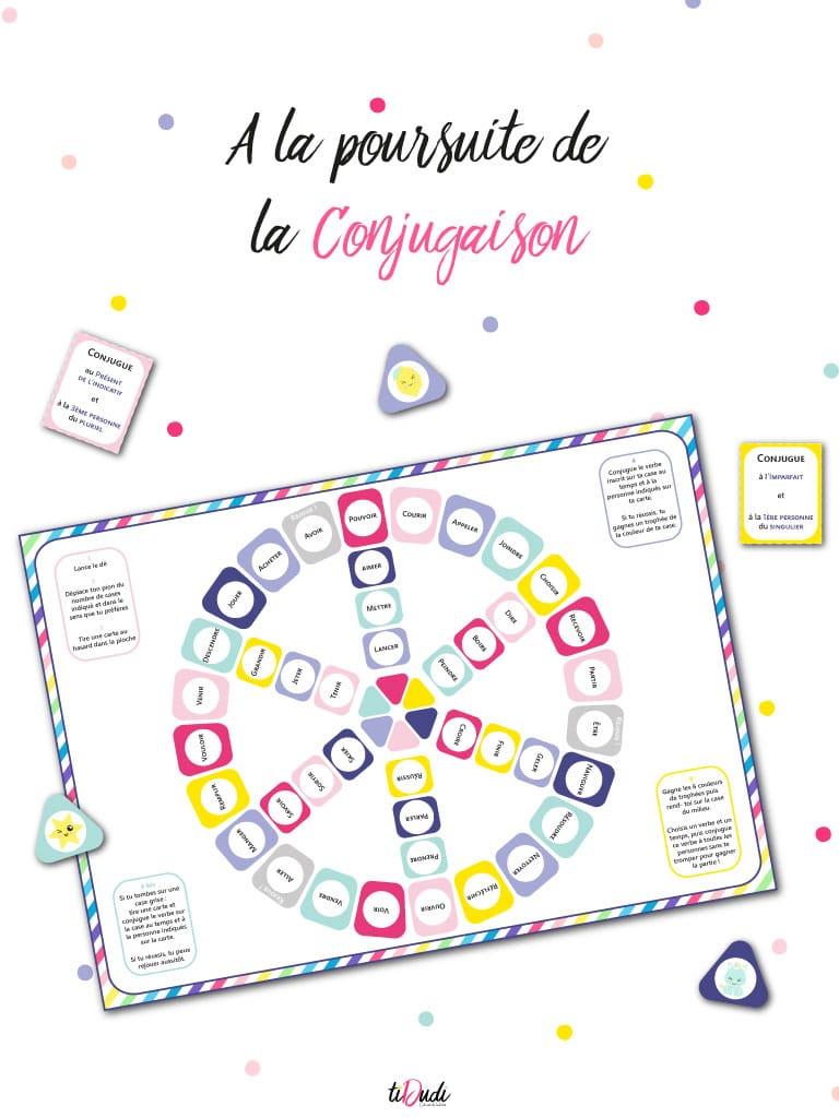 Apprendre La Conjugaison En S'amusant : apprendre, conjugaison, s'amusant, Apprendre, Conjugaison, Pédagogique, TiDudi