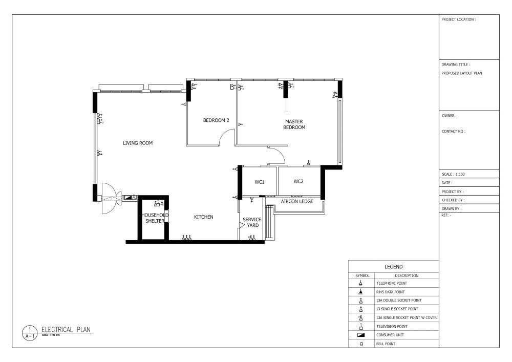 medium resolution of how to plan lighting and electrical works for your houseour electrical plan