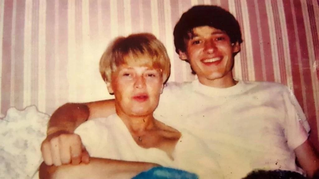 Jean-Michel Nicolier s majkom u Francuskoj prije Domovinskog rata