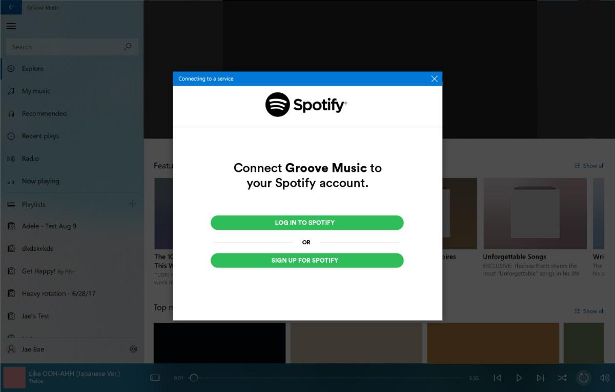 Microsoft joga a toalha na guerra do streaming e manda os usuários do Groove para o Spotify