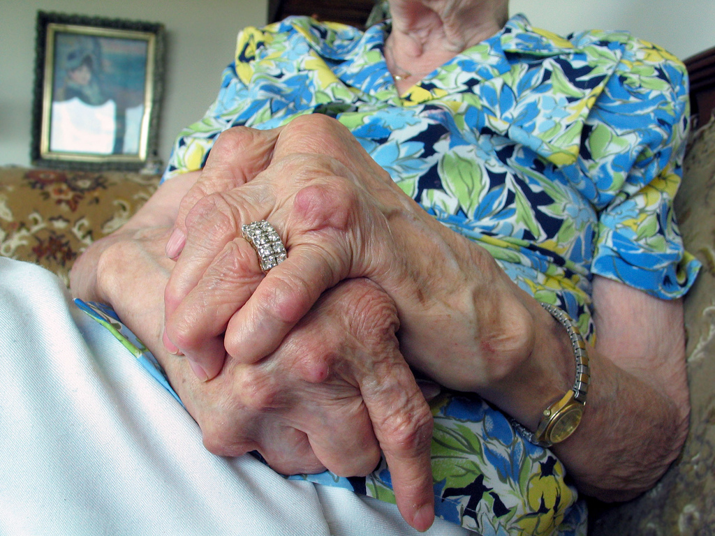 Image: Grandma's hands by sparktography