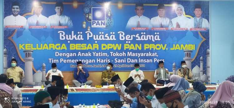 DPW PAN Jambi Gelar Buka Puasa Bersama