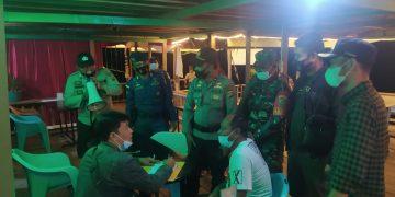 Tim Operasi Gabungan Tengah Sosialisasi Bersama Pemilik Cafe