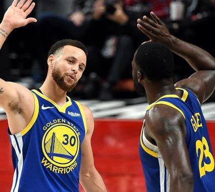 Curry y triple doble de Draymond Green pone a Warriors 3-0/Giannis vuelve a ser verdugo de Raptors