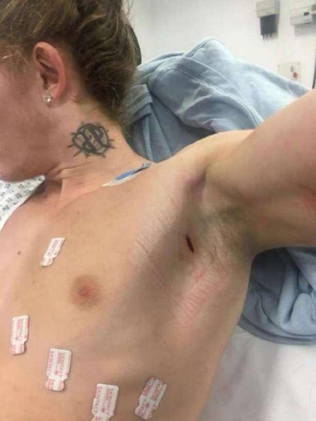 Гопники напали на парнишку, но тот оказался бойцом