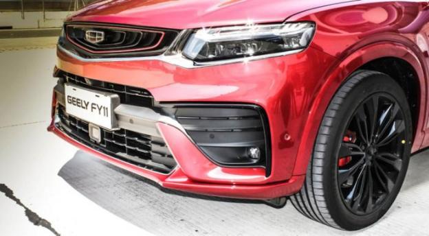 Обзор и видео кросс-купе Geely FY11 агрегатах XC40 (11 фото)