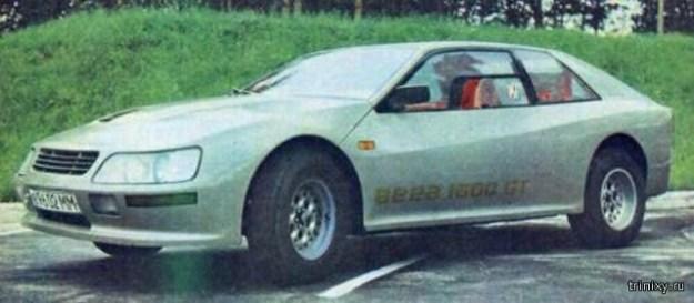 """Необычный самодельный автомобиль """"Вега-1600GT"""" из 1980-х (8 фото)"""