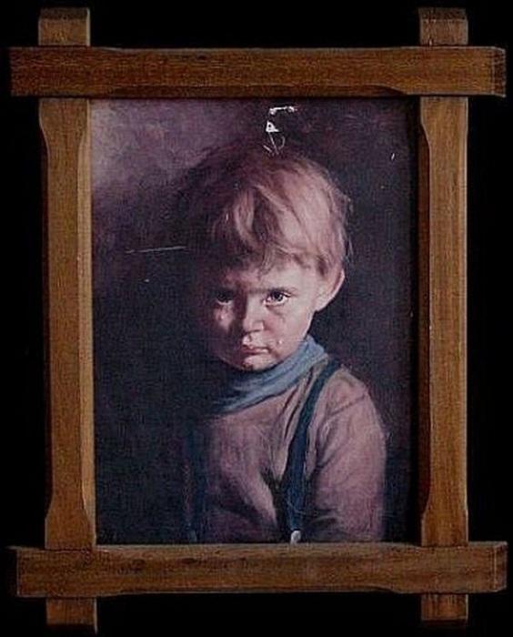 Загадка и проклятие -Плачущего мальчика-: Почему Амадио назвали живописцем дьявола