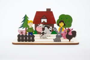 Farma drewniany świat