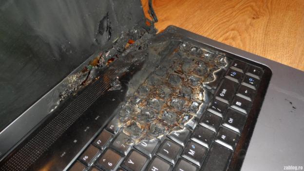 Mi-a luat foc laptopul, la propriu! Era Dell