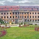 pałac w żarach