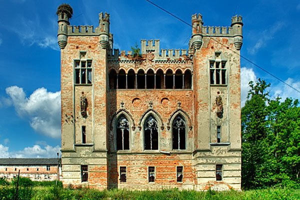 Pałac w Koziej Górze