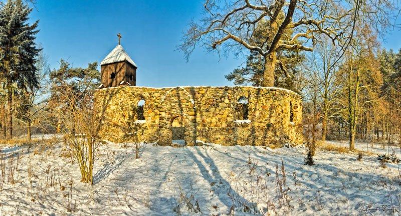Ruina kościoła w Podgórzycach