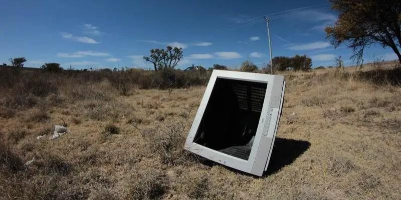 Televisión desechada