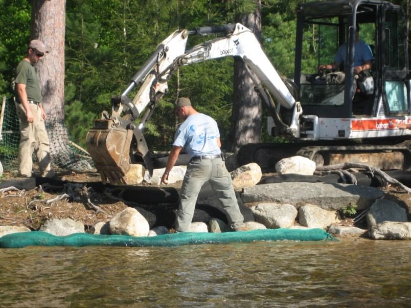 Erosion Control Shoreland Design