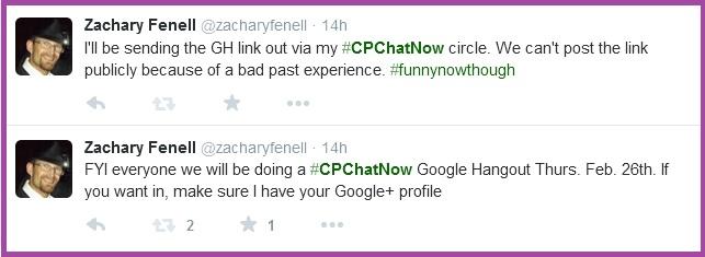 CPChatNow Google Hangout