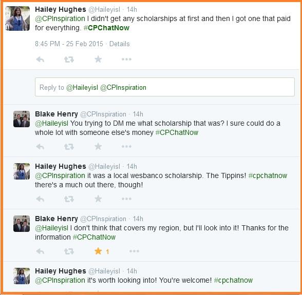 Hailey's scholarship story