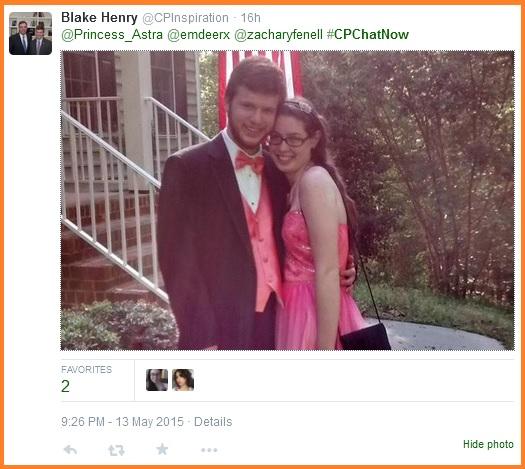 Blake's prom phto
