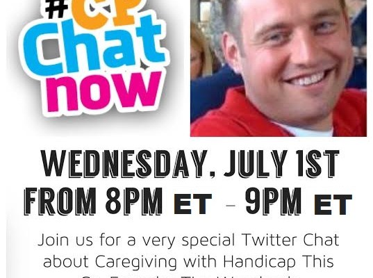 #CPChatNow focus chat on care giving July 1st