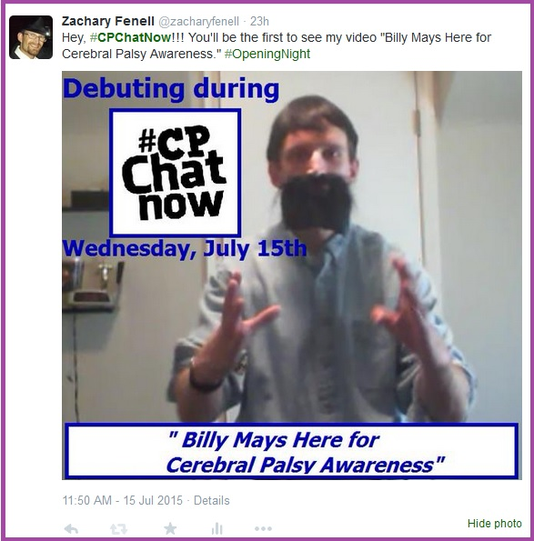 """Billy Mays Here for Cerebral Palsy Awareness"" video debut announced"