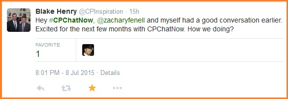 Foreshadowing the upcoming months for #CPChatNow