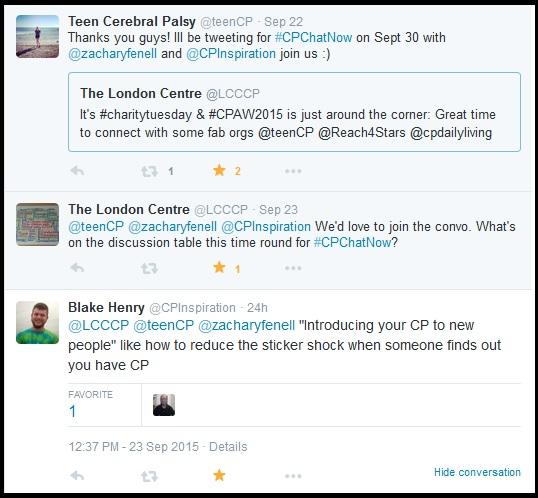 September #CPChatNow focus chat reminder