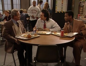 The educators Boy Meets World fans came to love in the 90s, Mr. George Feeney (William Daniels), Mr. Jonathan Turner (Anthony Tyler Quinn), and Mr. Eli Williams (Alex Désert)