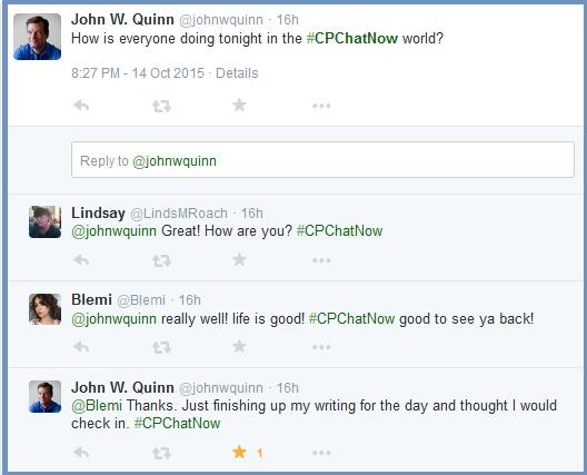 John W. Quinn Stops By