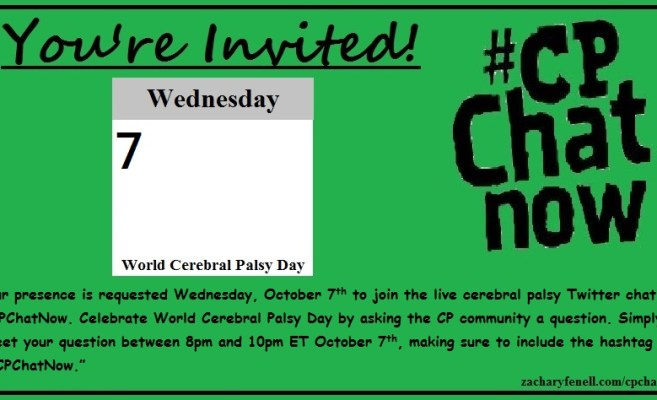 World Cerebral Palsy Day Twitter Chat