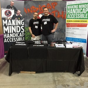 I worked the Handicap This booth at the 2015 Chicago Abilities Expo.