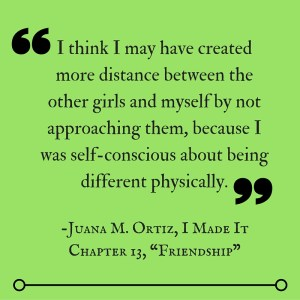 Despite vast differences in our lives, I still related to stories Juana shares in I Made It.