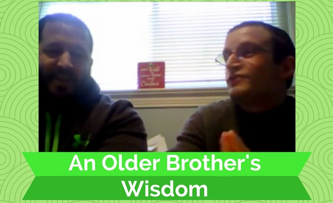 An Older Brother's Wisdom by Zachary Fenell