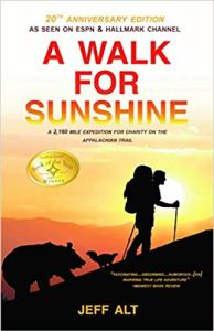 Book cover for A Walk for Sunshine by Jeff Alt