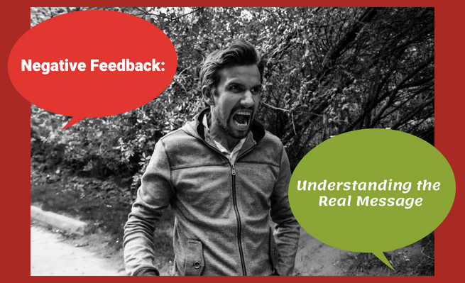 This advice from Chris Hendricks will help you handle negative feedback.