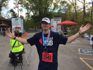 Before James Schleicher introduced me to a realm beyond no expectations I thought my physical peak would be finishing a half marathon.
