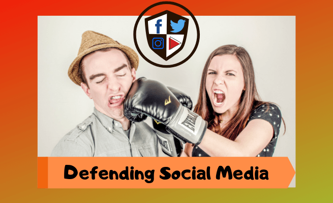 Tired of hearing people verbally assault social media, Zachary Fenell prepares to defend social media's virtues.