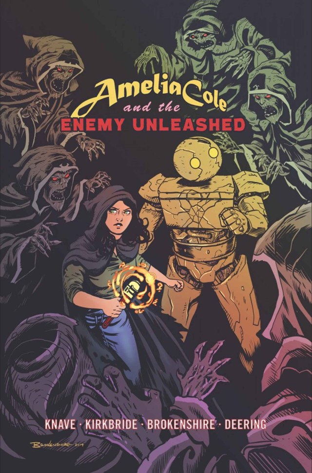 Amelia Cole And The Enemy Unleashed Cover Art Nick Brokenshire