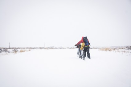 """What Riding 14"""" of Snow Really Looks Like"""