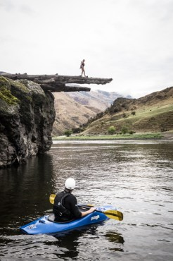 Log Cliff Jumping