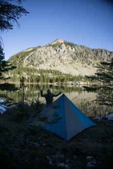 Pretty Descent Campsite and Scary Joe