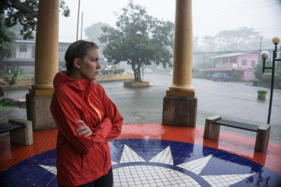 """So We Got Under """"Shelter"""" Just in Time For Another Afternoon Tropical Downpour in Los Juntas"""