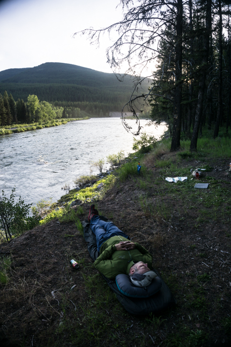 Pleasant Evening at Camp Along The South Fork