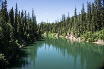 Gorgeous Green Water in Hungry Horse