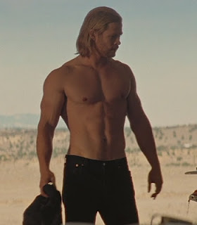 Thor without his shirt on