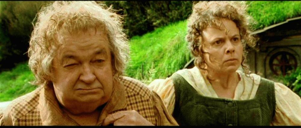 hobbit farmer and wife