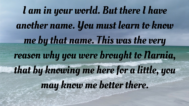Aslan quote