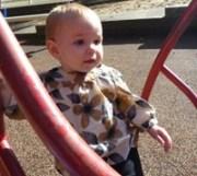 Graelyn Lambeth at the park