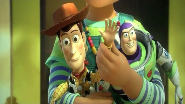 Toy Story 3 Ending - Woody waves goodbye to Andy